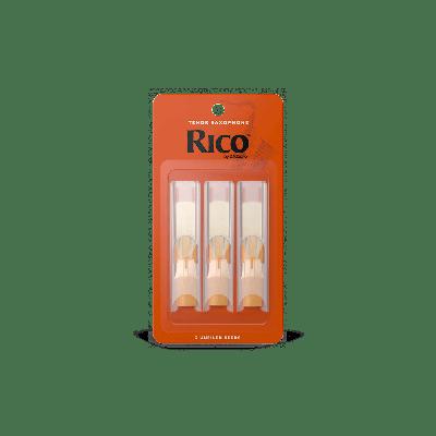 Rico Orange Tenor Sax Reeds, Strength 1.5 (3 Pack)