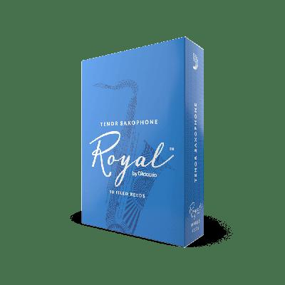 Rico Royal Tenor Sax Reeds, Strength 2.5 (10 Pack)