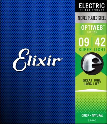 Elixir Optiweb Super Light Electric Guitar Strings