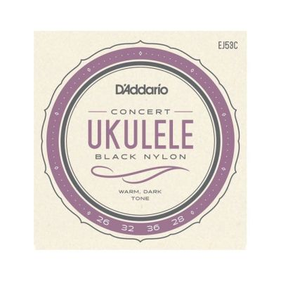 D'Addario EJ53C Pro-Arté Rectified Hawaiian-Concert Ukulele Strings