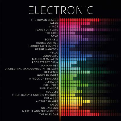 VARIOUS ARTISTS - ELECTRONIC - 2LP