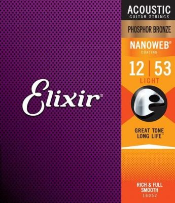 Elixir Phosphor Bronze NanoWeb Light