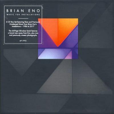 Brian Eno - Music For Installation - 6 CD BOX SET