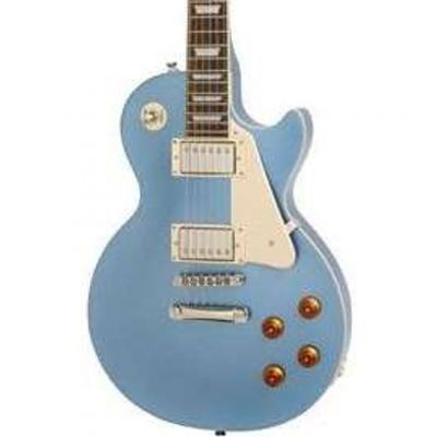 Epiphone Les Paul Standard Pelham Blue Electric Guitar