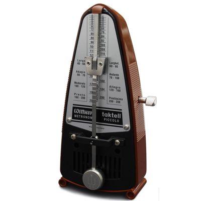Wittner Taktell Piccolo Metronome, Mahogany Brown