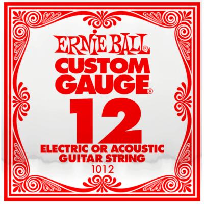 Ernie Ball Plain 012 String