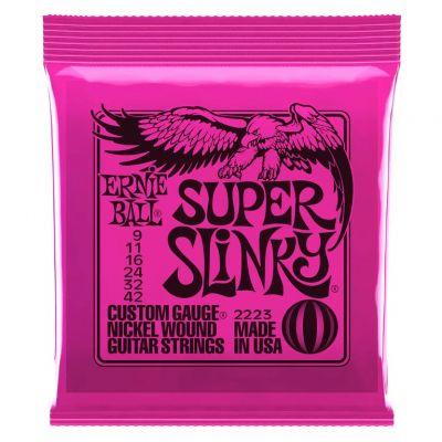 Ernie Ball Nickel Super Slinky Set