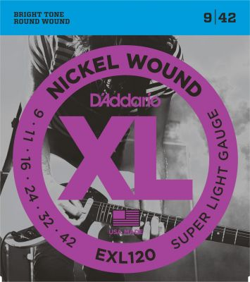 D'Addario XL Super Light