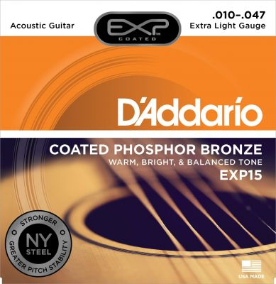 D'Addario EXP Phosphor Bronze Extra Light
