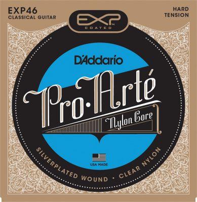 D'Addario Coated Classical Guitar Strings, Hard Tension