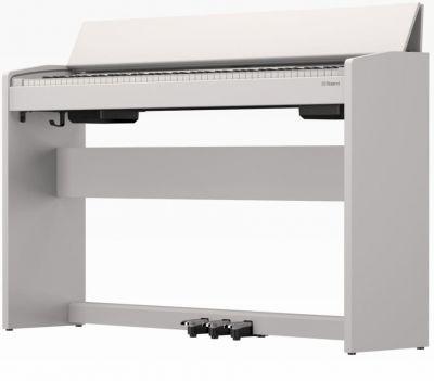 Roland F140RWH Digital Piano in Satin White
