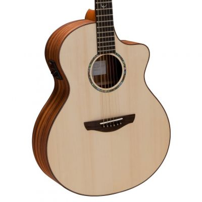 Faith Neptune Electro Acoustic Guitar Cutaway Trembesi