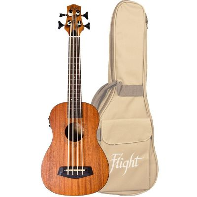 Flight DUBASS Bass Ukulele, Mahogany