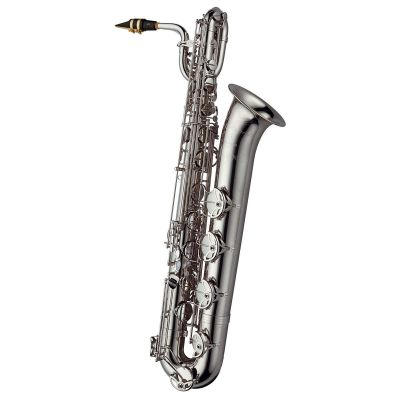 Yanagisawa BWO10SKG Baritone Saxophone - Silverplated Brass