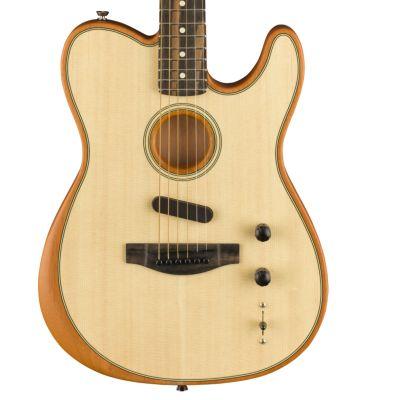 Fender American Acoustasonic Telecaster, Natural
