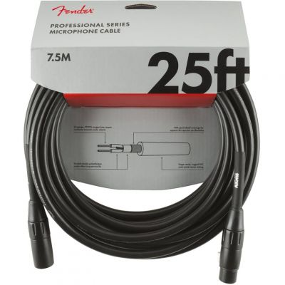 Fender 25 Foot Microphone Cable