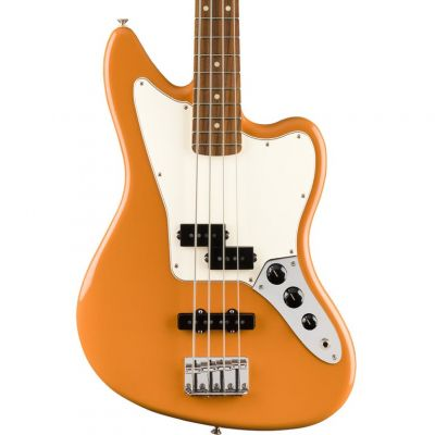 Fender Player Jaguar Bass, Pau Ferro Fingerboard, Capri Orange