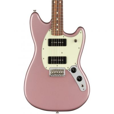 Fender Player Mustang 90 in Burgundy Mist Metallic