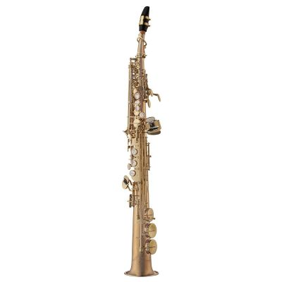 Yanagisawa Soprano Saxophone, Bronze, Unlacquered, straight and curved neck (SWO20U)
