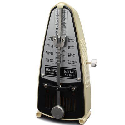 Wittner Taktell Piccolo Metronome, Ivory White