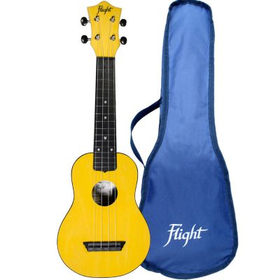 Flight TUS35 ABS Travel Soprano Ukulele - Yellow