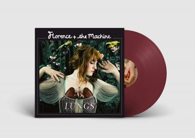 Florence & The Machine - Lungs 10th Anniversary Burgundy Vinyl
