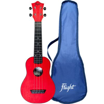 Flight TUS35 ABS Travel Soprano Ukulele - Red