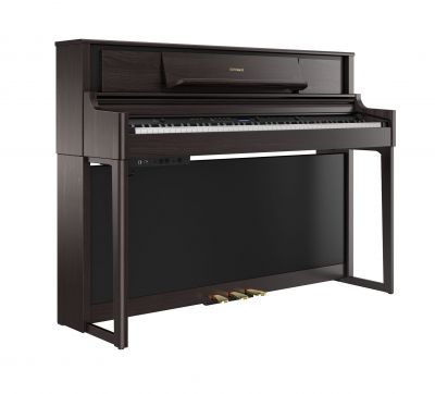 Roland LX705-DR Upright Piano In Dark Rosewood