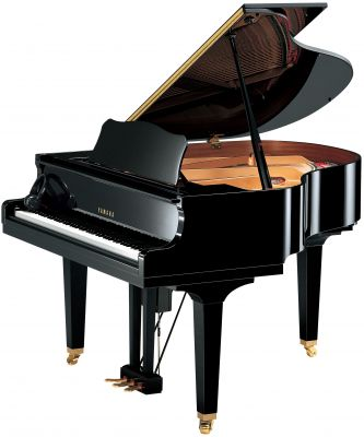 Yamaha DGB1 Disklavier Enspire Grand Piano, Polished Ebony