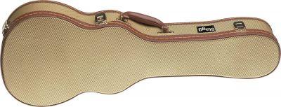Stagg Baritone Ukulele Case in Gold Tweed