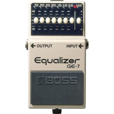 Boss GE7 7Band Graphic Equalizer Pedal