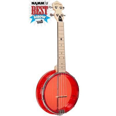 Gold Tone Little Gem Concert Banjo-ukulele, with bag, ruby