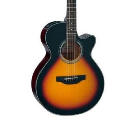 Takamine GF15CE-BSB Cutaway Electro Acoustic Guitar, Brown Sunburst