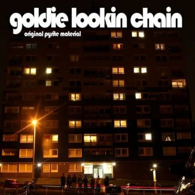 GOLDIE LOOKIN CHAIN - ORIGINAL PYRITE MATERIAL - RSD20