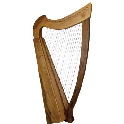 Glenluce GR60031W 22 String Folk Harp