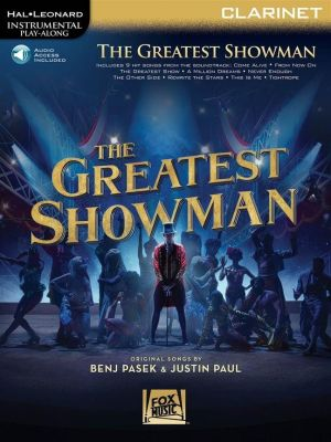 The Greatest Showman - Instrumental Play-Along for Clarinet