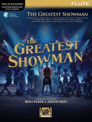 The Greatest Showman - Instrumental Play-Along for Flute