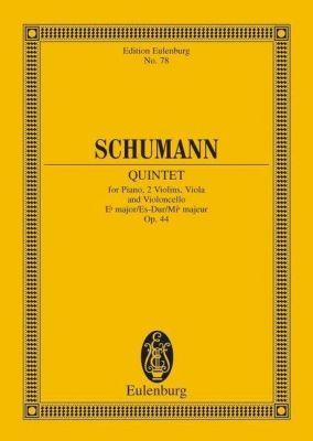 Schumann - Piano Quintet E flat major op 44 (STUDY SCORE)