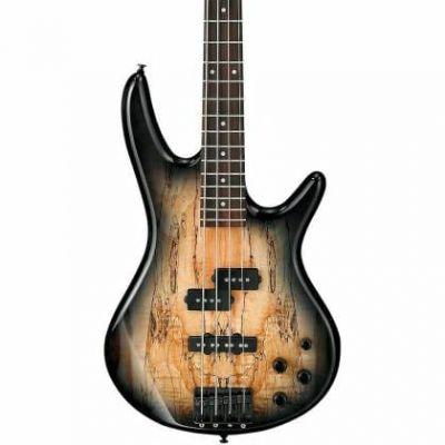 Ibanez GSR200SM NGT Spalted Maple Natural Grey Burst Bass Guitar