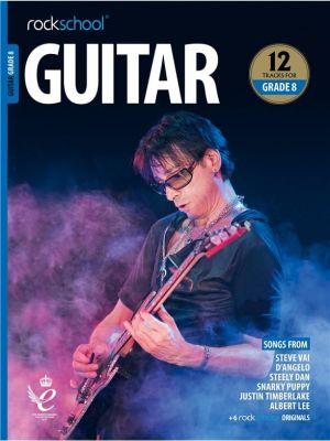 Rockschool Guitar Grade 8 from 2018 (Book + Audio)