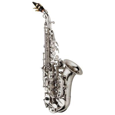 Yanagisawa SCWO10S Curved Soprano Saxophone - Silverplated Brass