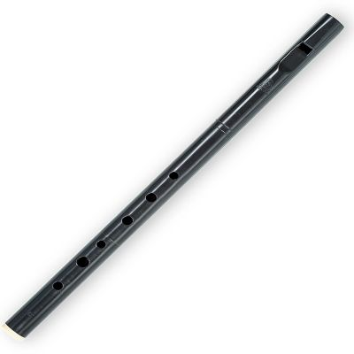 Dixon High D Whistle, Black Plastic Body