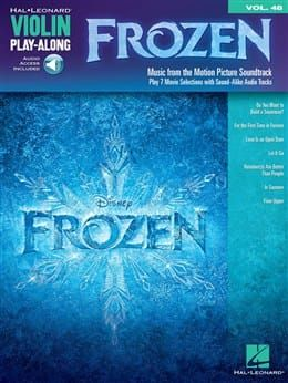 Violin Play-Along - Frozen (Book and CD)