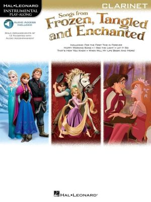 Songs from Frozen, Tangled and Enchanted (clarinet play-along)