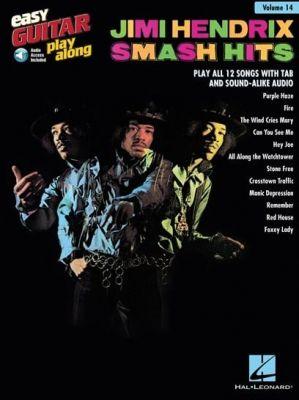 Easy Guitar Play-Along - Jimi Hendrix Smash Hits