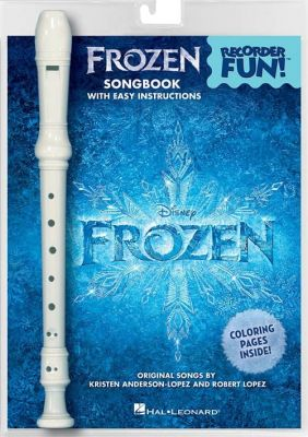 Frozen - Recorder Fun! (Songbook and instrument set)