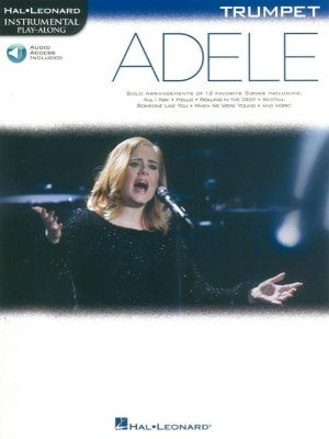 Play-Along Adele - Trumpet