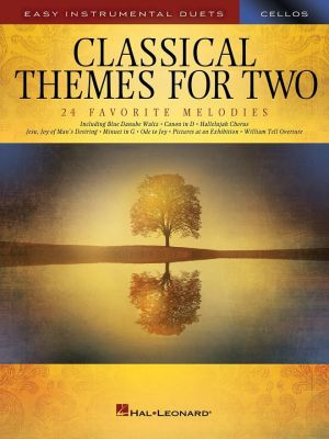 Easy Instrumental Duets - Classical Themes for Two Cellos