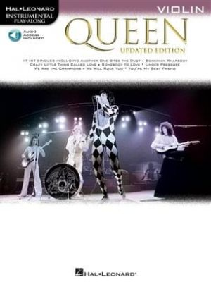 Queen - Violin (Book + Online Audio)