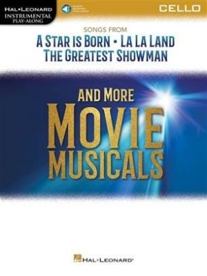 Instrumental Play-Along Songs from A Star Is Born and More Movie Musicals for Cello (Book + Online Audio)